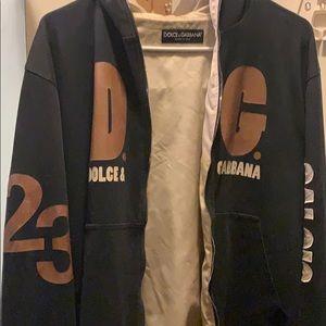 Dolce & Gabbana size M zip up hoodie